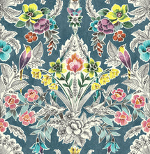 Load image into Gallery viewer, Summer Love Teal Peel & Stick Wallpaper