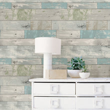 Load image into Gallery viewer, Beachwood Peel & Stick Wallpaper