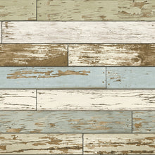 Load image into Gallery viewer, Old Salem Vintage Wood Peel & Stick Wallpaper