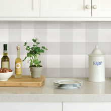 Load image into Gallery viewer, Farmhouse Plaid Peel & Stick Wallpaper