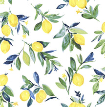 Load image into Gallery viewer, Lemon Drop Yellow Peel & Stick Wallpaper