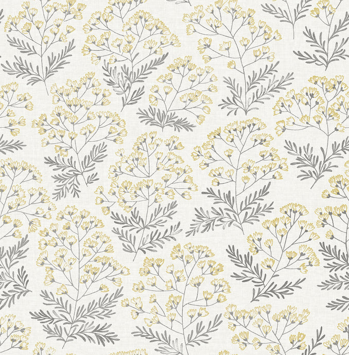 Yellow Wethersfield Peel & Stick Wallpaper