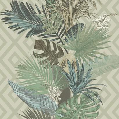ON1630 Tropical Oasis Stripe