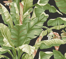 Load image into Gallery viewer, Banana Leaf Peel and Stick Wallpaper