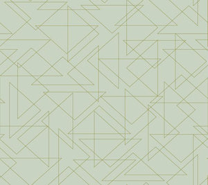 Triangulation Peel and Stick Wallpaper