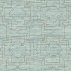Quatrefoil Trellis Peel and Stick Wallpaper