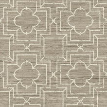 Load image into Gallery viewer, Quatrefoil Trellis Peel and Stick Wallpaper