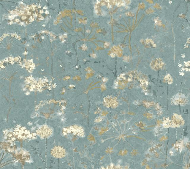 Botanical Fantasy Peel and Stick Wallpaper