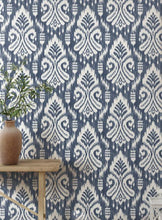 Load image into Gallery viewer, Hawthorne Ikat Peel and Stick Wallpaper