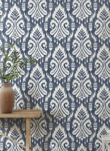 Hawthorne Ikat Peel and Stick Wallpaper