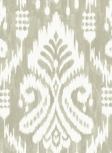 Windswept cliffs and rocky coastlines inspire the worldly elegance of pattern Hawthorne Ikat.