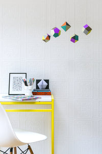 Turner Tile Paintable Textured Vinyl Wallpaper