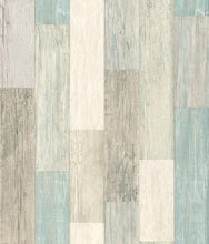 Load image into Gallery viewer, COASTAL WEATHERED PLANK PEEL & STICK WALLPAPER