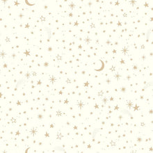 Load image into Gallery viewer, TWINKLE LITTLE STAR GOLD PEEL & STICK WALLPAPER