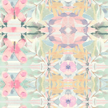 Load image into Gallery viewer, SYNCHRONIZED FLORAL PINK PEEL & STICK WALLPAPER