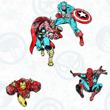Load image into Gallery viewer, AVENGERS CLASSIC PEEL & STICK WALLPAPER