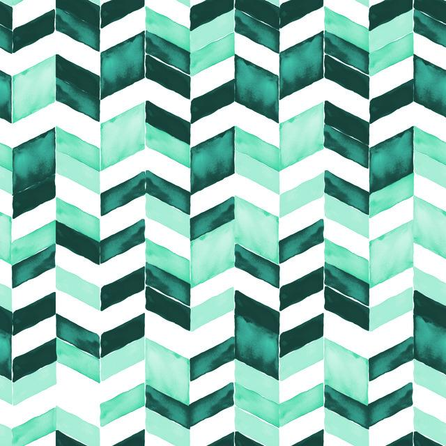 PAUL BRENT WATERCOLOR CHEVRON PEEL & STICK WALLPAPER