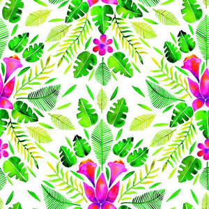 CAT COQUILLETTE TROPICAL PEEL & STICK WALLPAPER