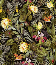 Load image into Gallery viewer, TROPICAL FLOWERS PEEL & STICK WALLPAPER