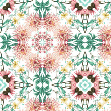 Load image into Gallery viewer, COTTAGE GARDEN KALEIDOSCOPE PEEL & STICK WALLPAPER