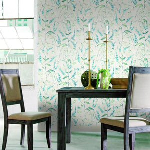 FLORAL SPRIG PEEL & STICK WALLPAPER