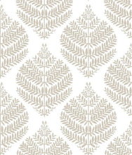 Load image into Gallery viewer, HYGGE FERN DAMASK PEEL & STICK WALLPAPER