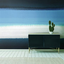 Load image into Gallery viewer, WATERCOLOR HORIZON PEEL & STICK WALLPAPER MURAL