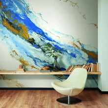 Load image into Gallery viewer, CYSTAL GEODE PEEL & STICK WALLPAPER MURAL