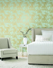 Load image into Gallery viewer, GINGKO LEAVES PEEL & STICK WALLPAPER