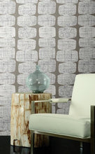 Load image into Gallery viewer, MID-CENTURY BEADS PEEL & STICK WALLPAPER