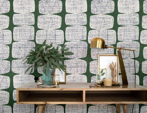 MID-CENTURY BEADS PEEL & STICK WALLPAPER