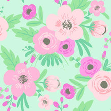 Load image into Gallery viewer, POPPY FLORAL PEEL & STICK WALLPAPER
