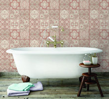 Load image into Gallery viewer, MARRAKESH TILE PEEL & STICK WALLPAPER