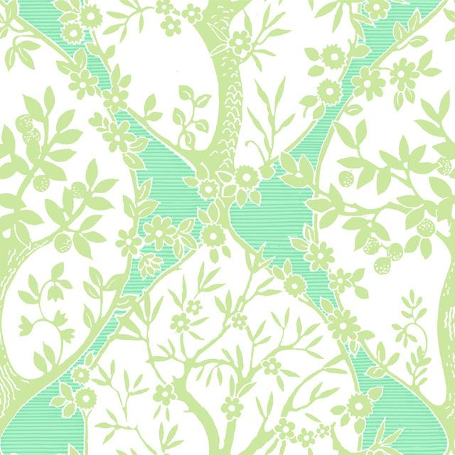 TREE AND VINE OGEE PEEL & STICK WALLPAPER