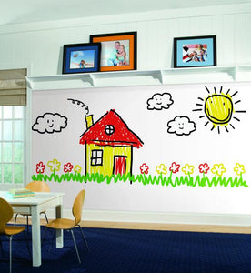 DRY ERASE PEEL & STICK WALLPAPER