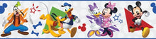 Load image into Gallery viewer, DISNEY MICKEY & FRIENDS PEEL & STICK WALLPAPER BORDER
