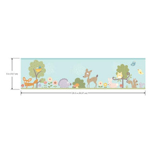 WOODLAND ANIMAL BORDER