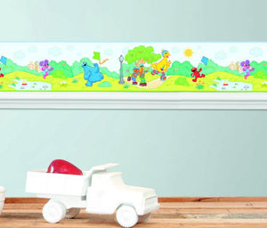 SESAME STREET PEEL AND STICK WALLPAPER BORDER