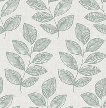 Load image into Gallery viewer, Fern Green Sprig Self Adhesive Wallpaper