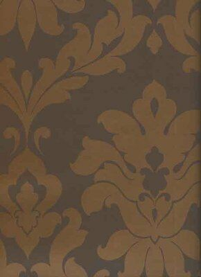 VG26228. T on t brown damask