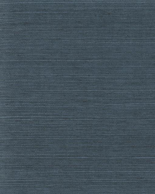 Magnolia Home Plain Grass Wallpaper blue
