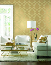 Load image into Gallery viewer, Mixed Metals Chantilly Lace Wallpaper