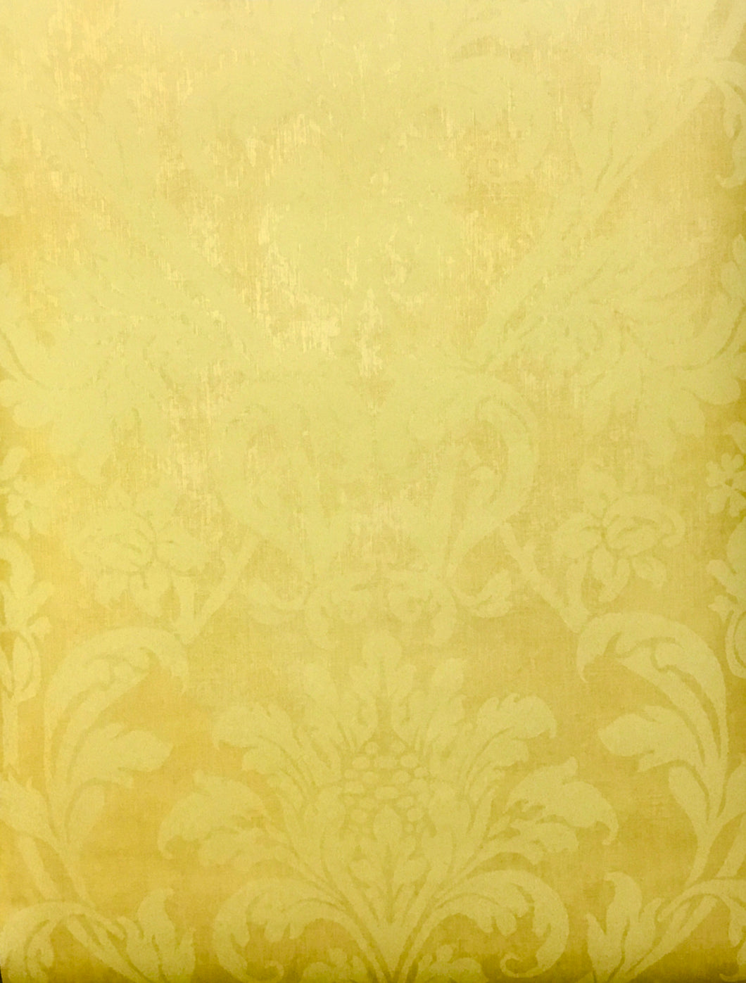 VL082202. Two tone yellow damask