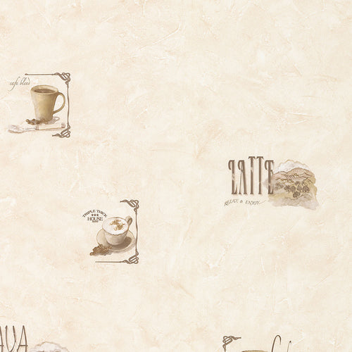 wallpaper, wallpapers, novelty, coffee, cups, words, scrolls, scenic