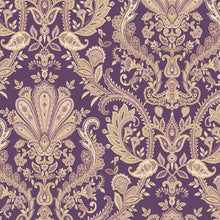 Load image into Gallery viewer, wallpaper, wallpapers, light reflective, paisley, floral, flowers