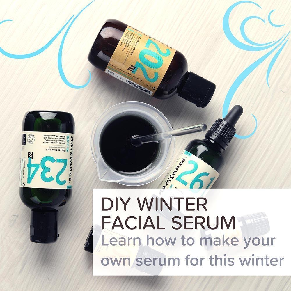 DIY Winter Facial Serum