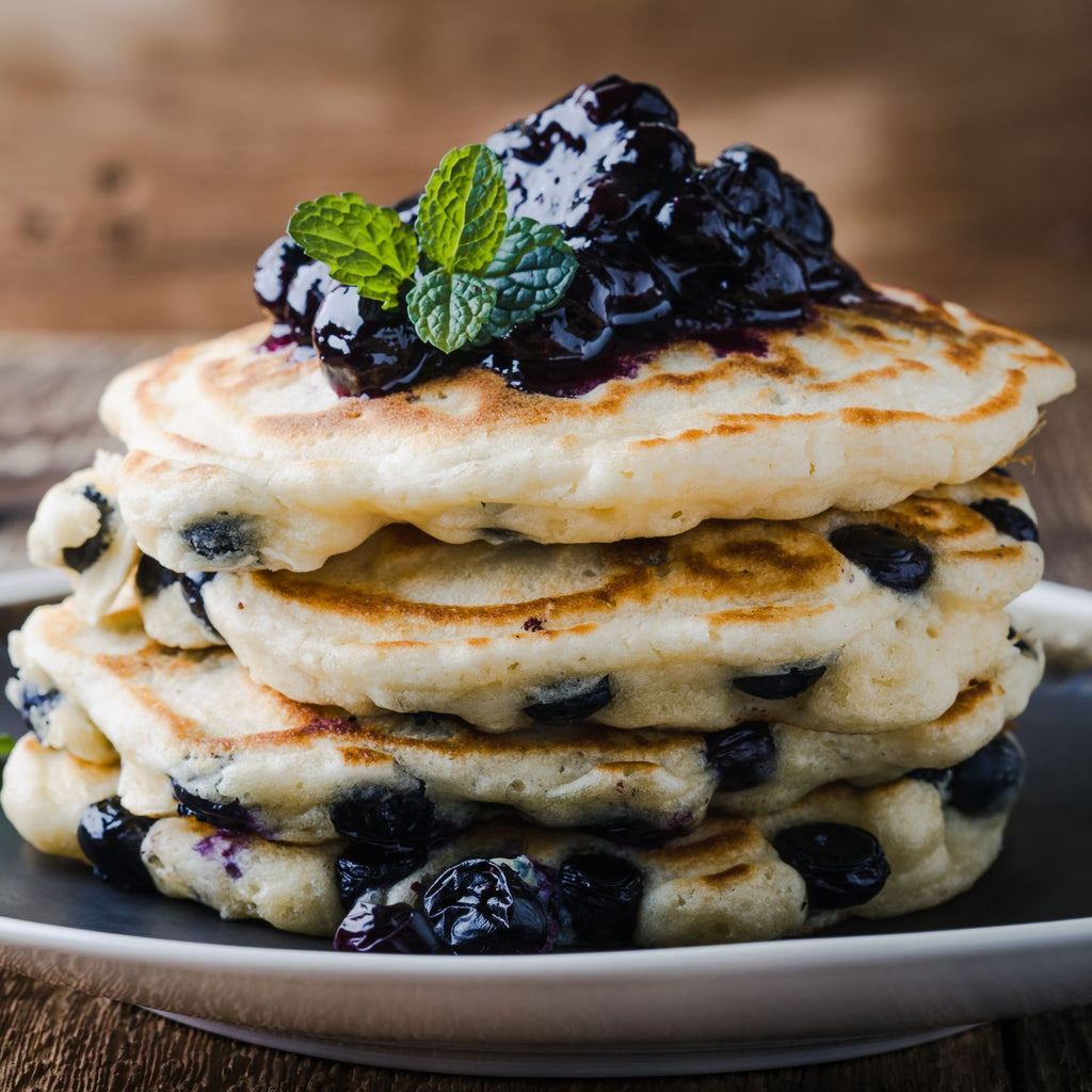 Blueberry and Lemon Pancake Recipe