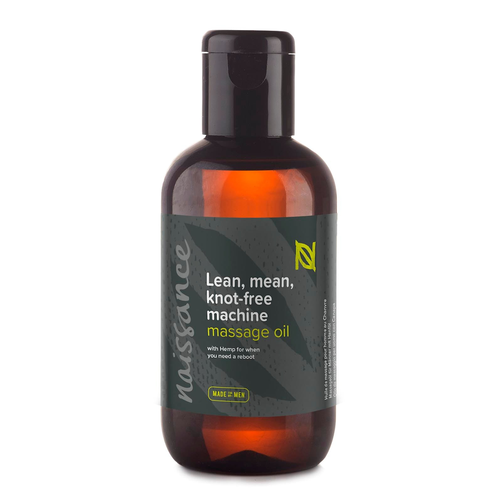 Lean mean knot free machine massage oil