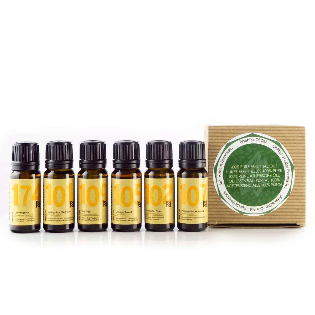 Top 6 Essential Oil Gift Pack 6 x 10ml