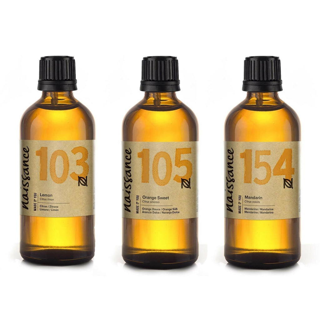 Everyday Essential Oil 100ml Trio Bundle Lemon, Sweet Orange and Mandarin